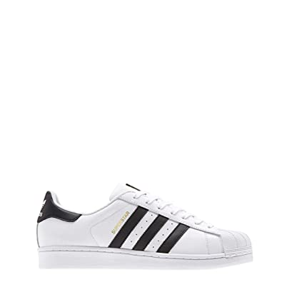 timeless design f0da0 8eec6 adidas Superstar 1 White Black Foundation - 5.5 UK