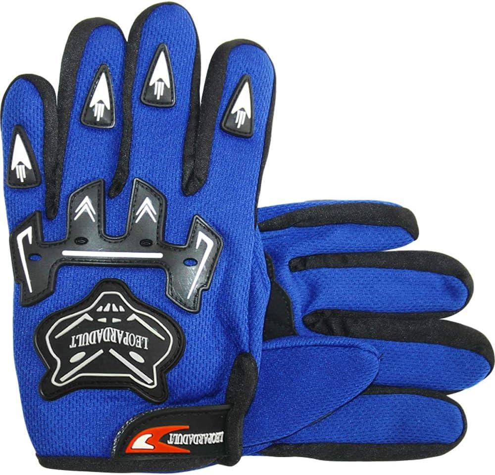 Leopard Erwachsene /& Kinder Motocross Motorradhandschuhe Racing Schutz Motorrad Roller Handschuhe