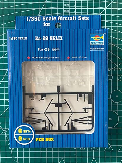 6-Box Trumpeter 1//350 Ka29 Helix Helicopter Set