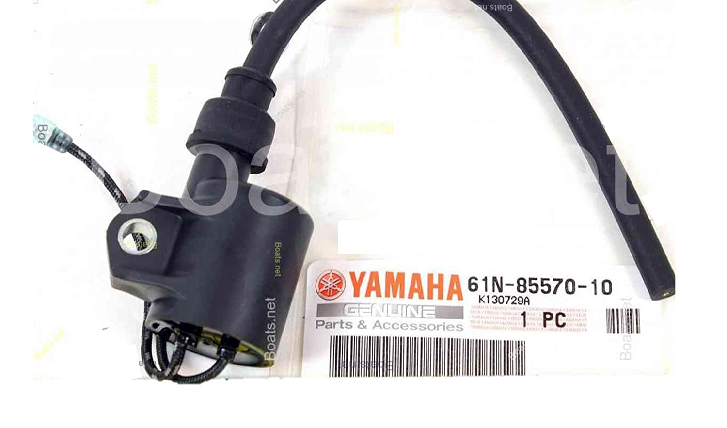 Yamaha 61N-85570-00-00 Ignition Coil Assembly; New # 61N-85570-10-00 Made by Yamaha