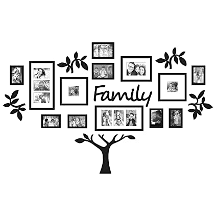 Buy Paper Plane Design Rectangular \'Eye-Catching Collage Family Tree ...