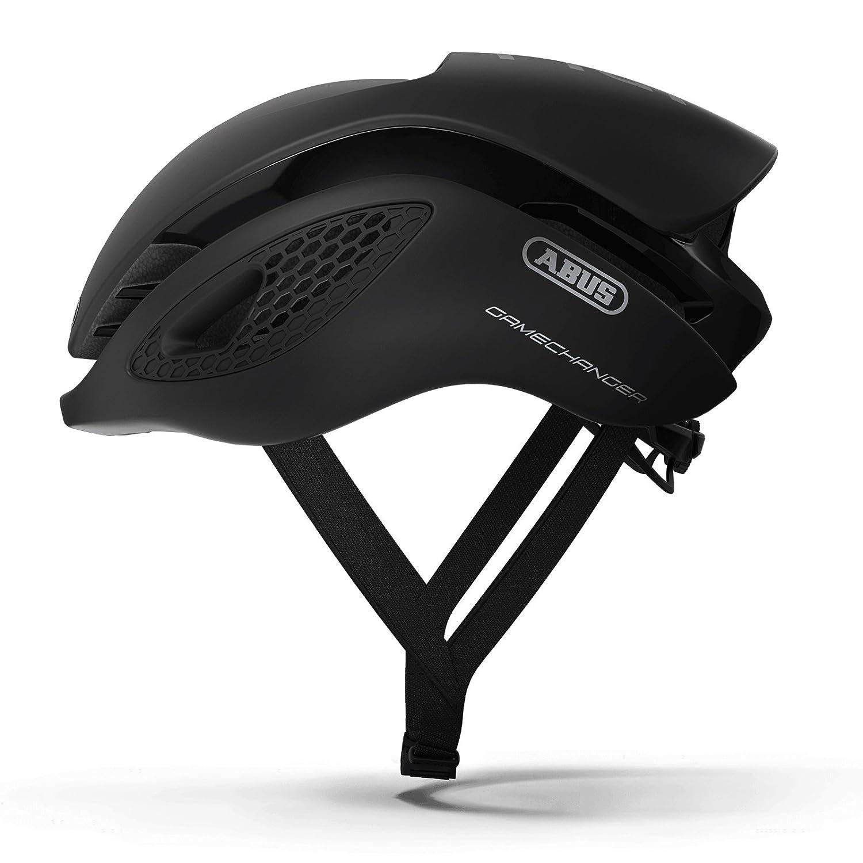 ABUS(アブス) GameChanger サイクリング ヘルメット - Velvet Black (ベルベット ブラック) [並行輸入品] Small  B0773FKD6C