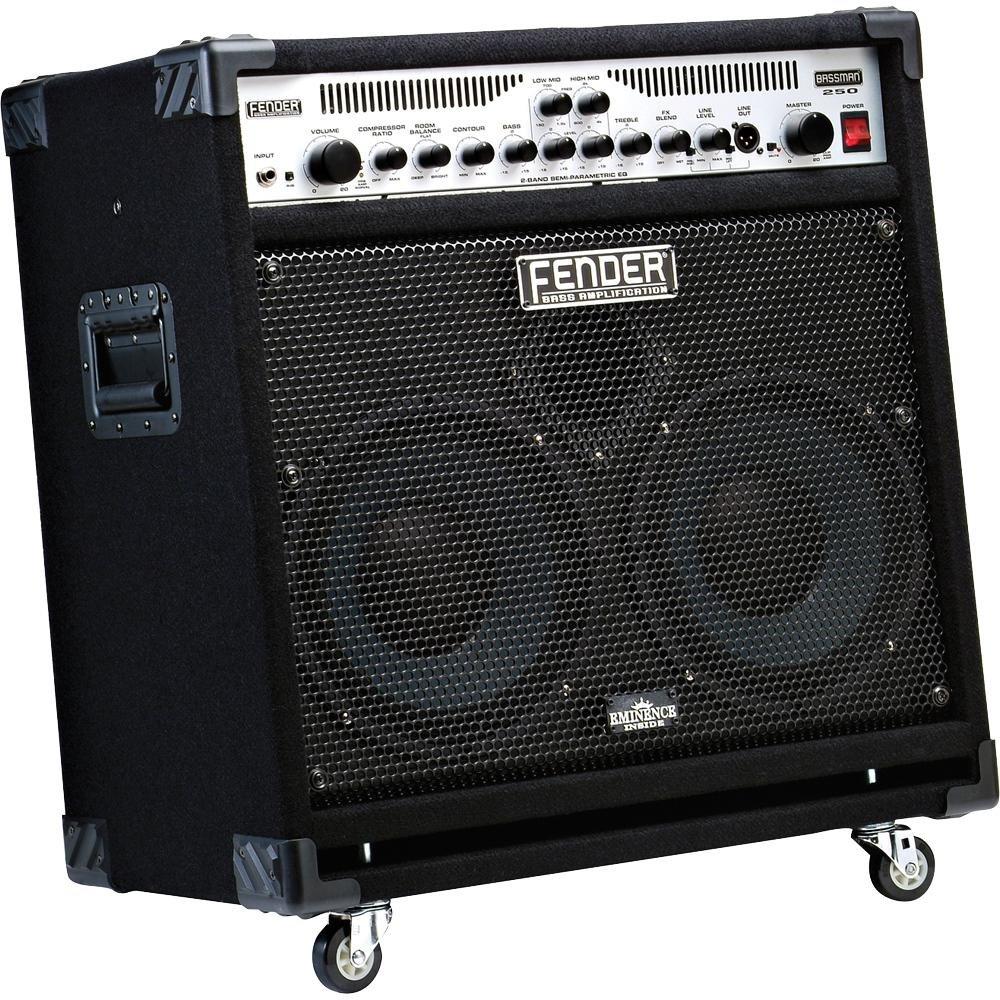 Fender® Bassman® 250/210 250-watt Bass Combo Amplifier w