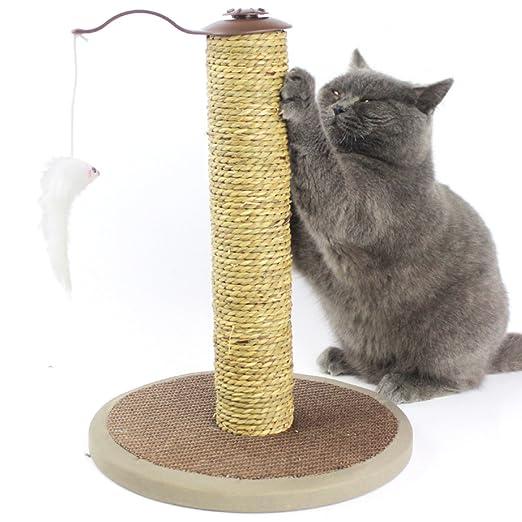 LDFN Gatos Trepando Gatos Marco árbol Gato Cuerda De Sisal ...