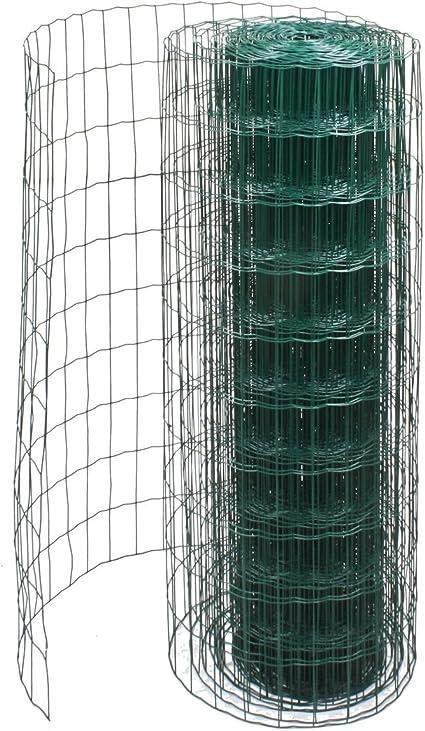 Recinzione Reti Per Giardino.Harms Import Rete Per Recinzione Da Giardino In Rotolo Verde 1 M