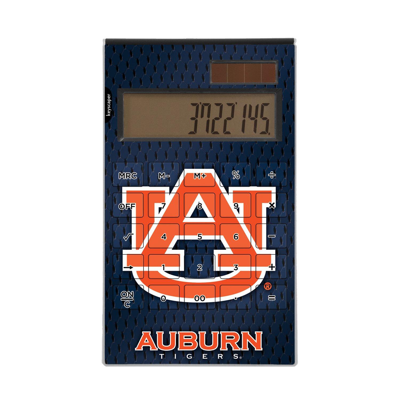 Auburn Tigers Desktop Calculator NCAA by Keyscaper