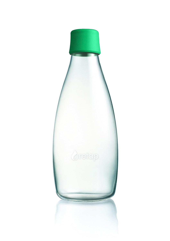 RETAP Riutilizzabile Bottiglia D acqua con chiusura/ /0,8/litri Purple