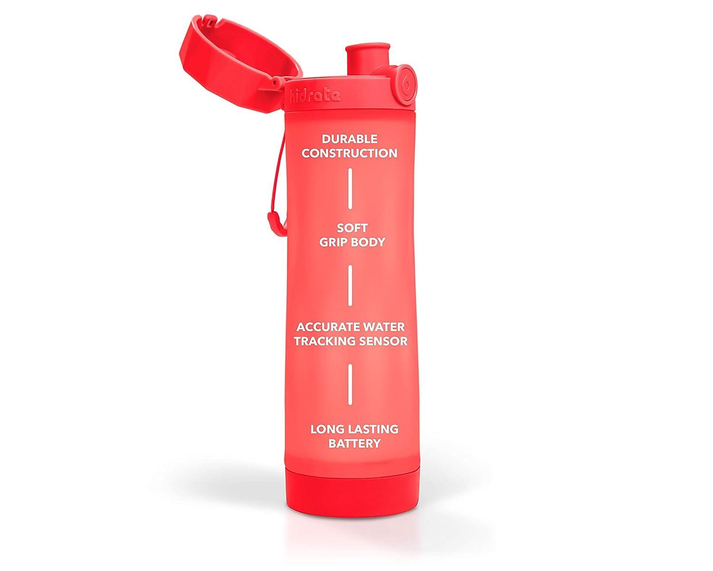 Hidrate Spark 3 Botella de Agua Inteligente rastrea la Ingesta de Agua y se Ilumina para recordarle Que Debe Mantenerse hidratado
