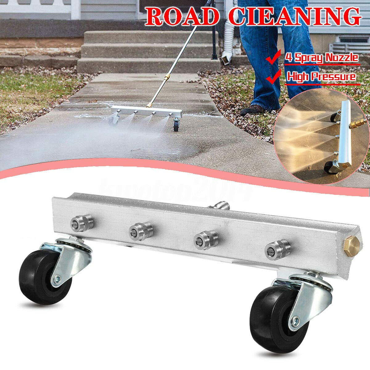 SMOXX Car Accessories Automobile Chassis Cleaning And Road Cleaning Nozzle Water Broom Power Washer