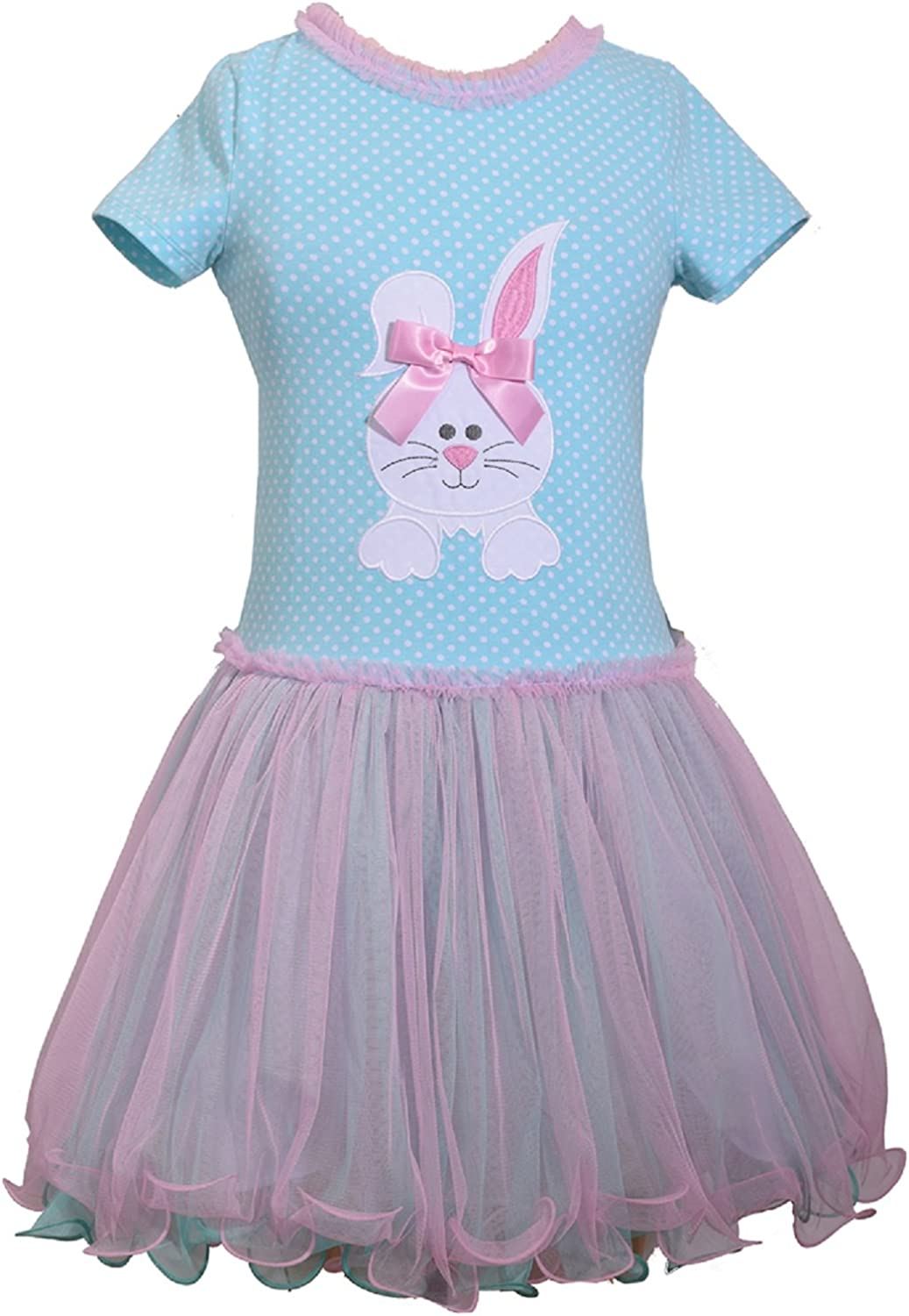 Bonnie Jean Holiday Special Occasion Bunny Easter Girls Dress