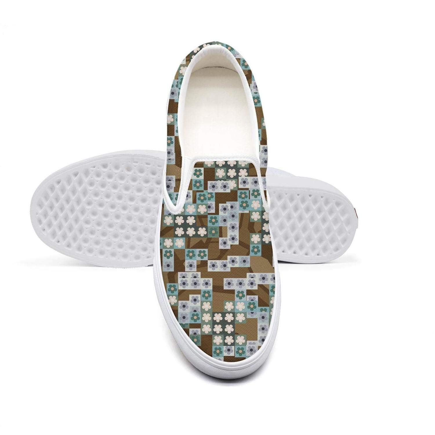 KJGDFS Urban Camouflage Watercolor Flat Shoes Limited Edition Slip ons for Boys