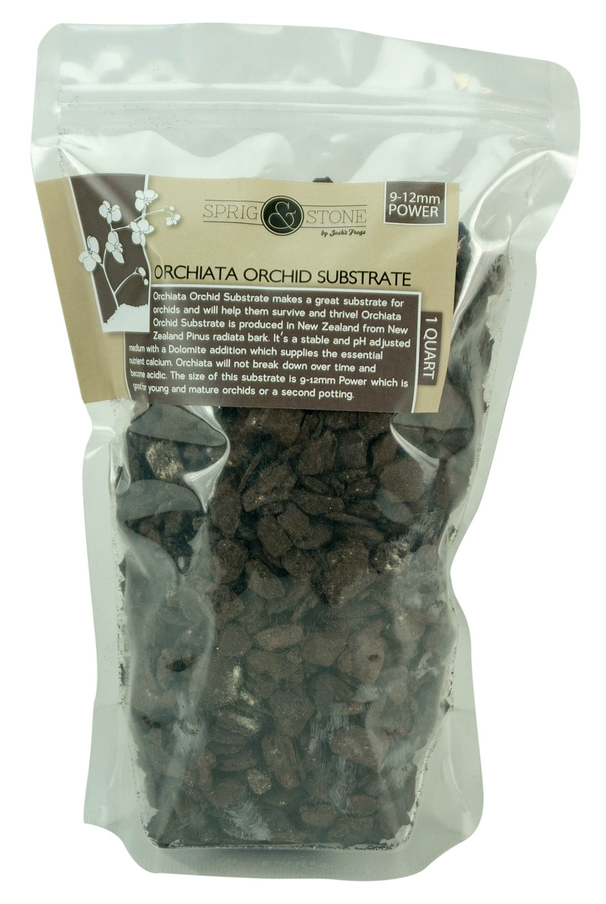 Orchiata Orchid Substrate - 9-12mm POWER (1 Quart) by Sprig & Stone (Image #1)