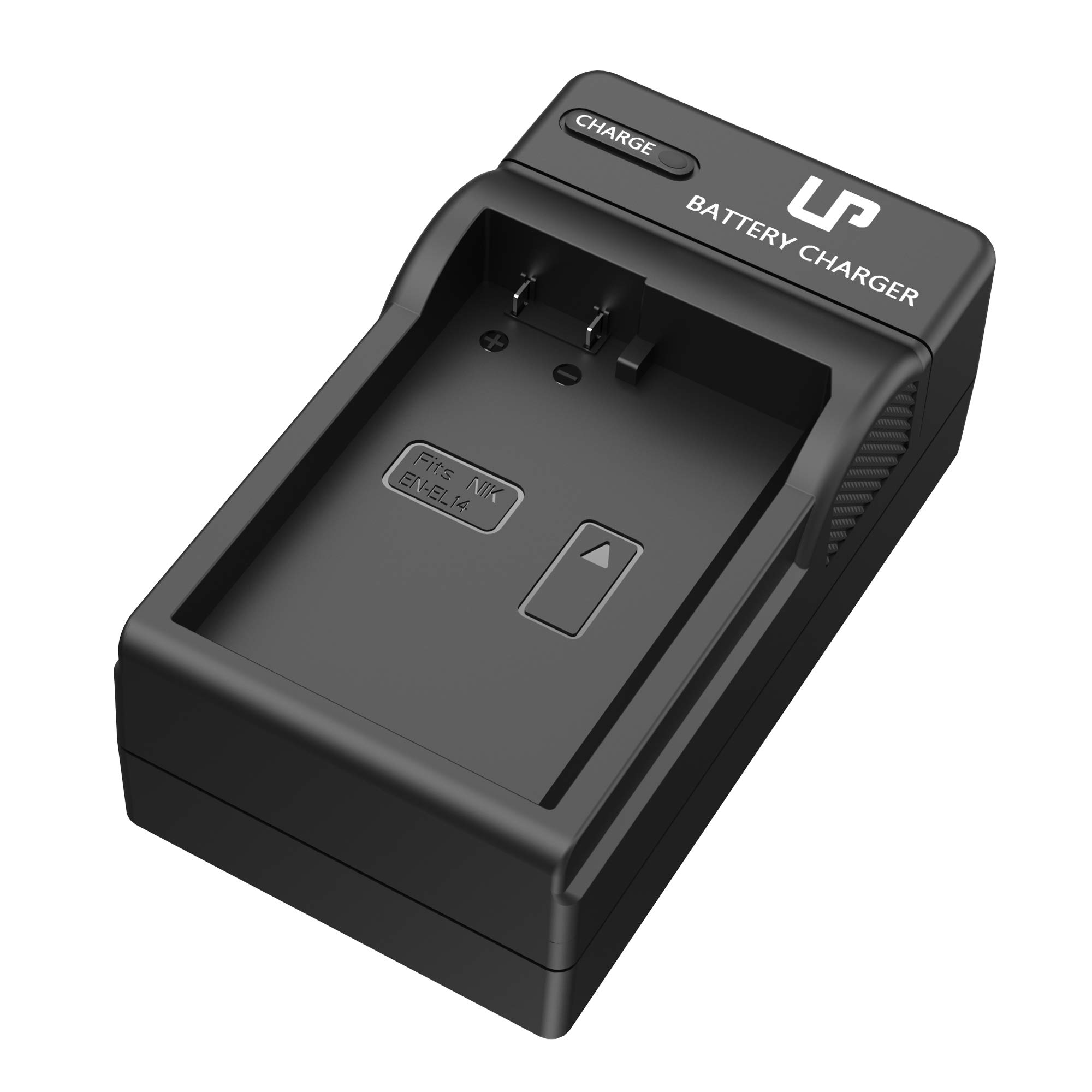 LP EN-EL14 EN EL14a Battery Charger, Compatible with Nikon D3100, D3200, D3300, D3400, D3500, D5100, D5200, D5300, D5500, D5600, DF, P7000 & More by LP