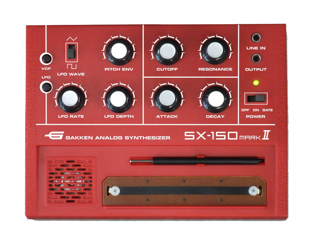 CHUGAN Corporation Gakken SX-150 MARK II Analog Synthesizer by CHUGAN Corporation