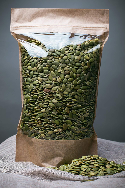 Semillas de calabaza sin procesar, libres de transgénicos (700gr)