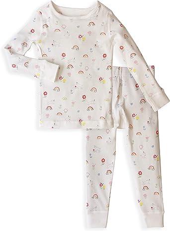 Skylar Luna Pijama para niñas – 100% algodón orgánico Gots Certificado – Pijama de Manga Larga para bebé y Pijama para niños 24 Meses: Amazon.es: Ropa y accesorios