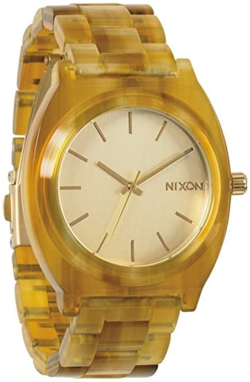 Reloj Nixon The Time Teller A3271423 Mujer Beige: Nixon: Amazon.es: Relojes