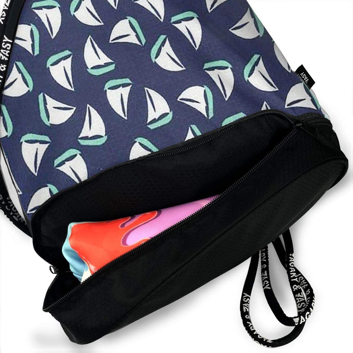 HUOPR5Q Cute Owl Drawstring Backpack Sport Gym Sack Shoulder Bulk Bag Dance Bag for School Travel
