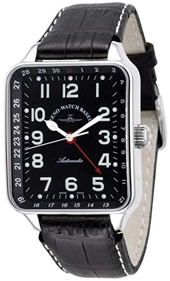 Zeno-Watch Reloj Mujer - SQ Pilot Pointer date - 131Z-a1
