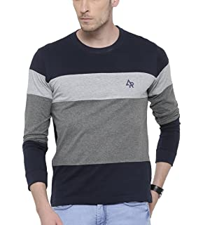Style Shell Men s Cotton T-Shirt (Tri Ylw)  Amazon.in  Clothing ... 15955c2d52