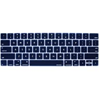 Mosiso Keyboard Cover for Touch Bar Models Newest Version MacBook Pro 13 & MacBook Pro 15 with Touch ID