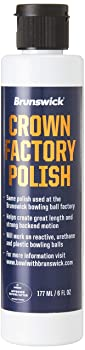 Brunswick Crown Factory Bowling Ball Polish