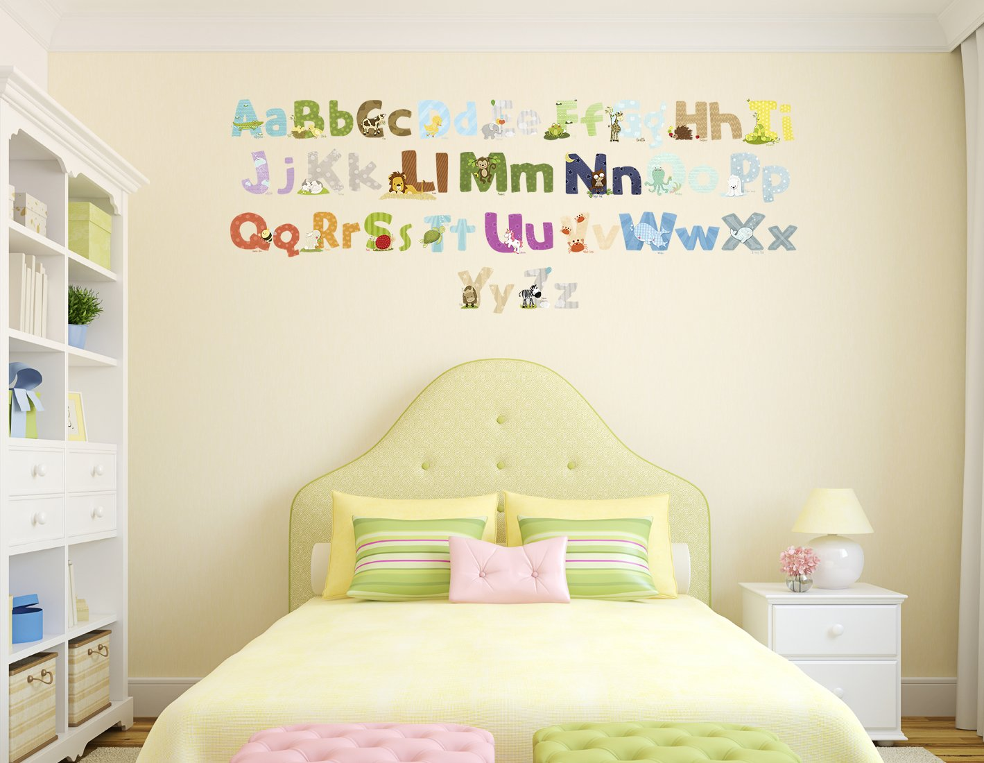 Old Fashioned Alphabet Cards Wall Art Photos - The Wall Art ...