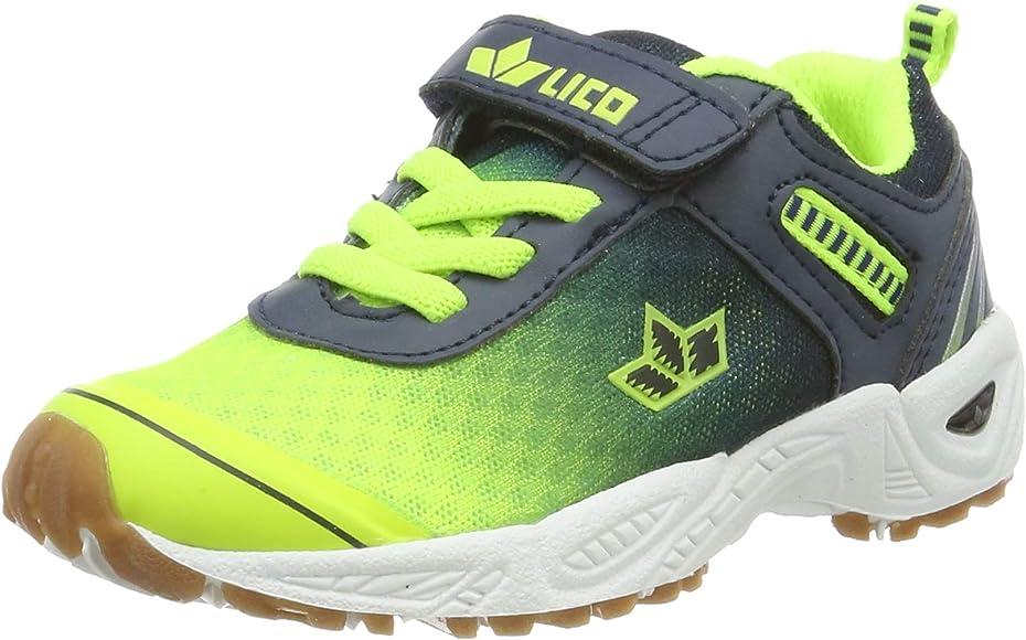 Lico Barney Vs, Zapatillas de Deporte Interior para Niños, Azul (Marine/Lemon Marine/Lemon), 25 EU: Amazon.es: Zapatos y complementos