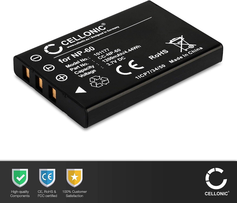 Ex-Pro Reemplazo Batería PX1686 Toshiba Camileo Cámaras