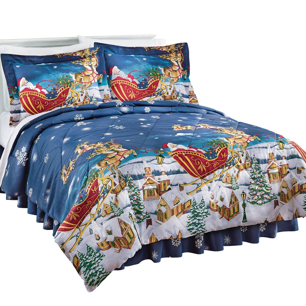 Night Comforter Set, Queen, Multi