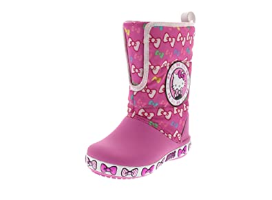 819aaa90c CROCS Kids - HELLO KITTY GUST BOOT - party pink