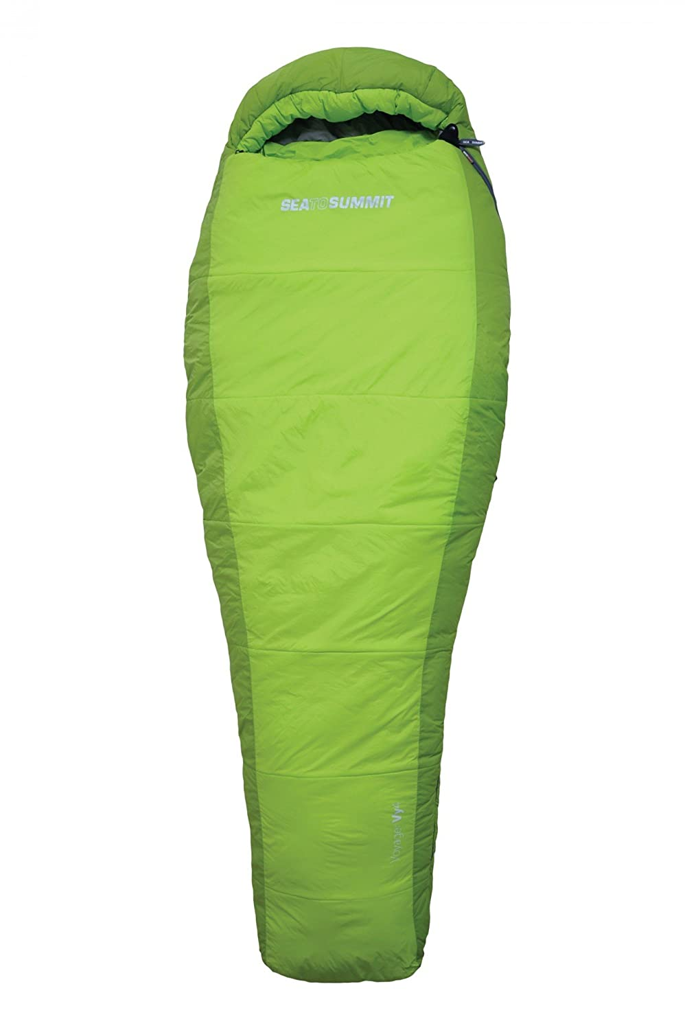 Sea to Summit Voyager Vy4 Sleeping Bag Regular lime Ausführung links 2016 Mumienschlafsack