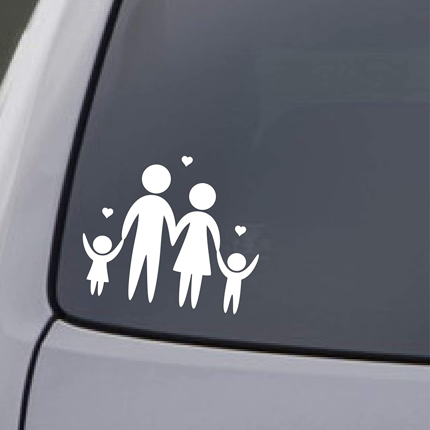 FAMILY register sticker car main door decal