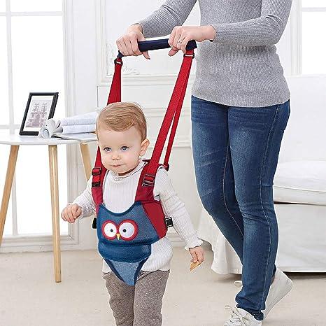 Red Vicloon Hand-held Baby Walker Toddler Walking Assistant Helper Kid Safe Walking Protective Belt Child Harnesses Learning Assistant Belt