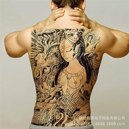 zgmtj Tatuaje en la Espalda Completa Imagen Grande Tatuaje en la ...