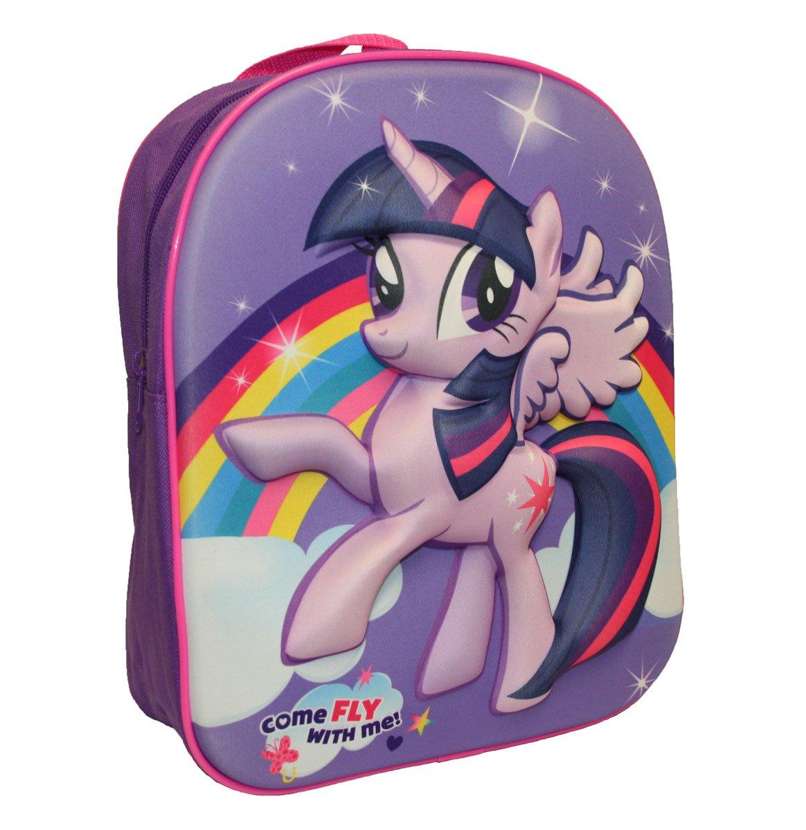 Mon Petit Poney EVA Sac à Dos pour Enfant, 32cm, 8l, Violet My Little Pony MLP001051