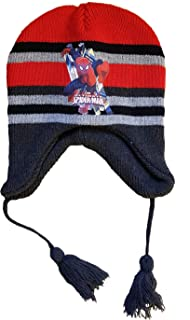 Super Mario Beanie Bobble Winter Hat Blue Age 2-4 Years 52cm
