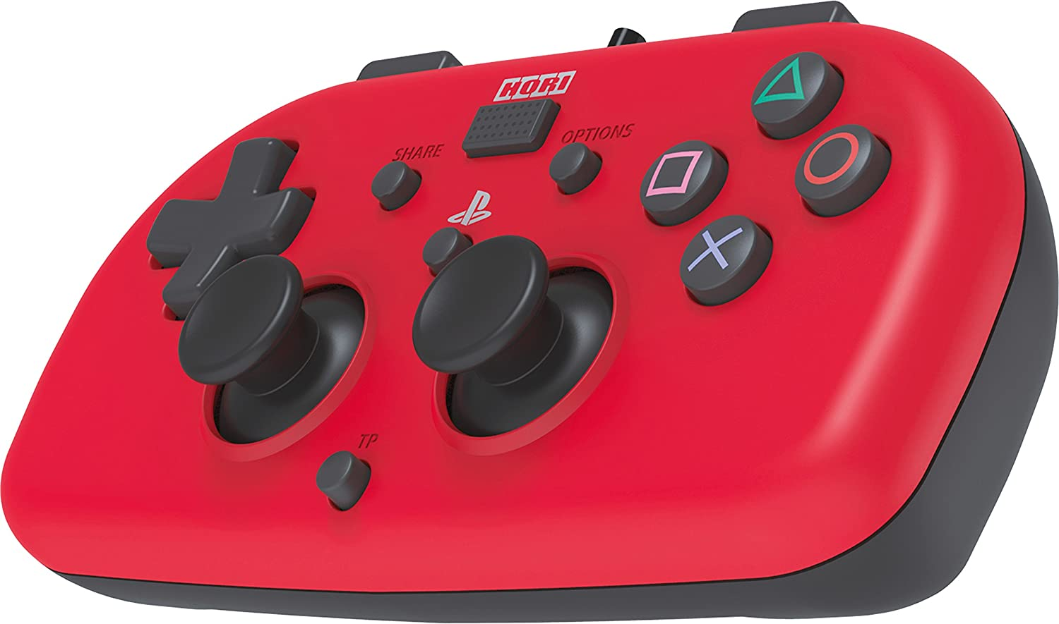 Hori - Mando Mini Con Cable, Color Rojo (PS4): playstation 4: Amazon.es: Videojuegos