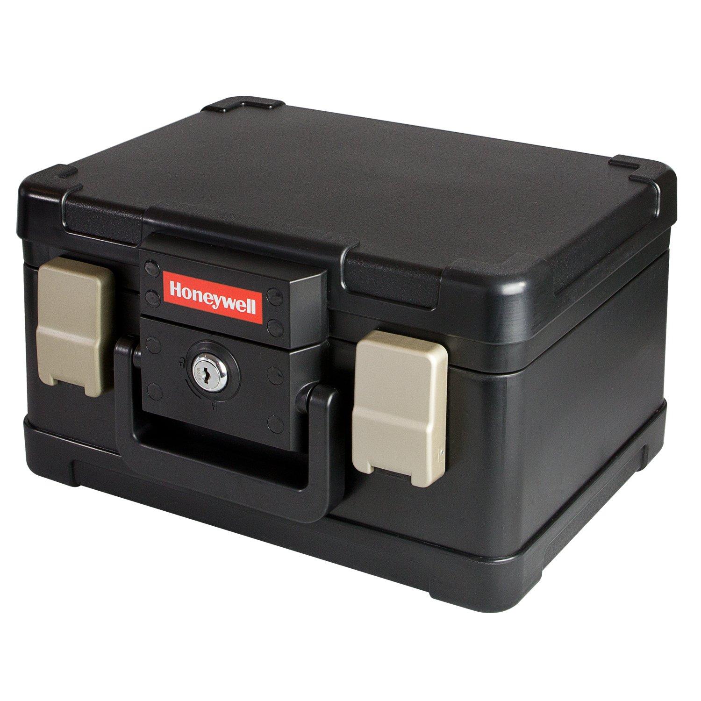 HMF - Caja para documentos (ignfuga y resistente al agua, tamao DIN A5): Amazon.es: Oficina y papelería