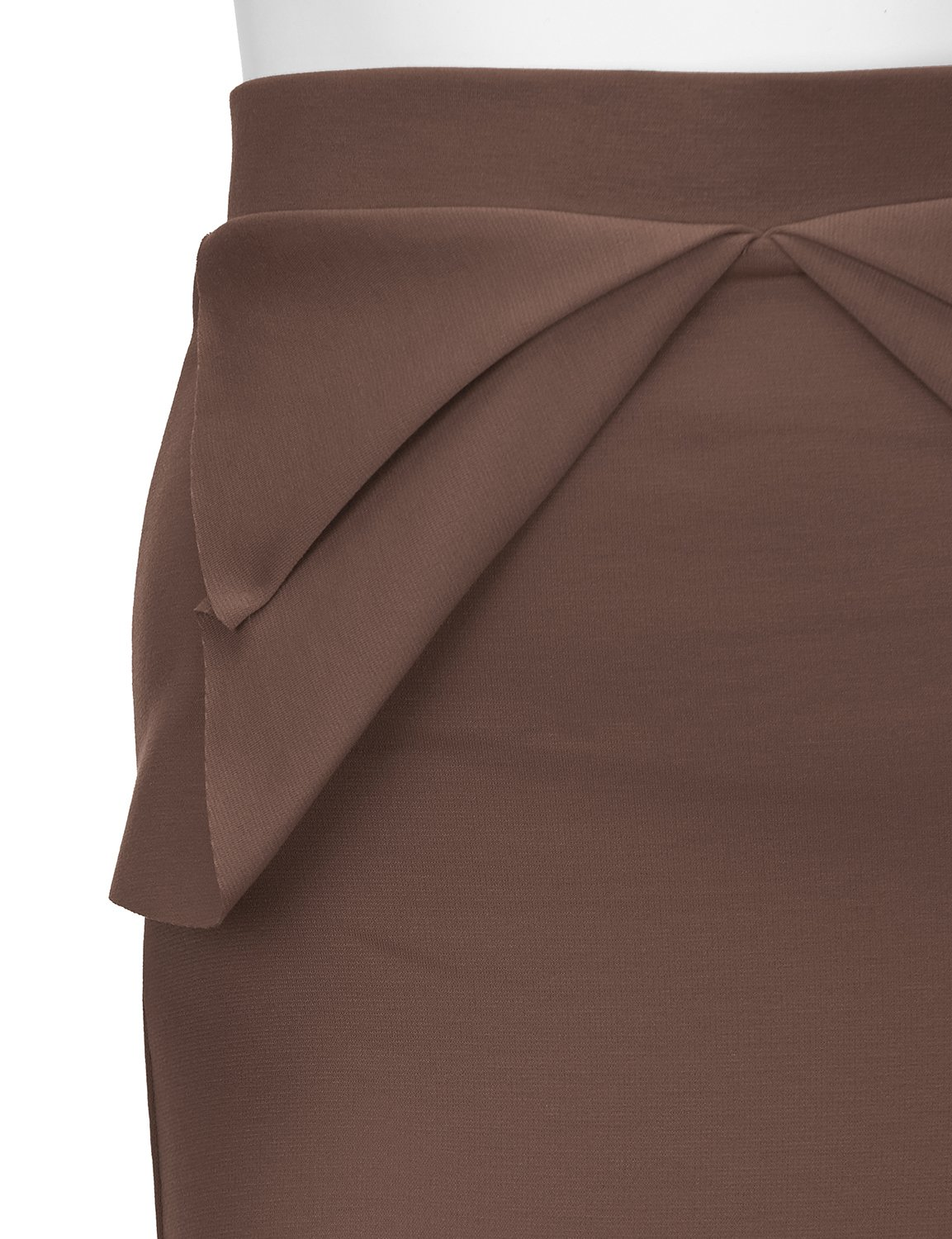 Regna X Womens high Waist Elastic Band Sexy Knee Length Skirts Brown XL by Regna X (Image #6)