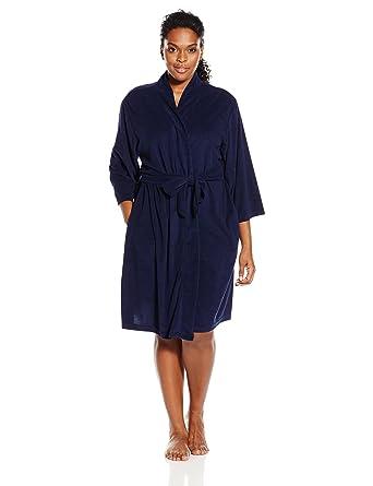 3ee965b56c Jockey Women s Plus-Size Vintage Terry Robe at Amazon Women s Clothing  store