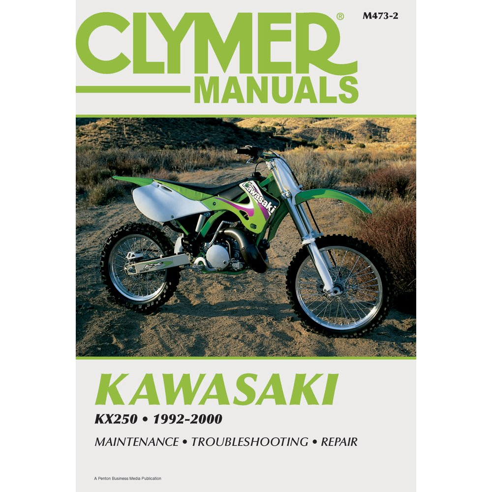 M473-2 1992-2000 Kawasaki KX250 Clymer Motorcycle Repair Manual:  Manufacturer: Amazon.com: Books