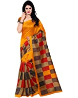 Trendz Style Bhagalpuri Cotton Silk Saree (TZ_Jolly_Color)