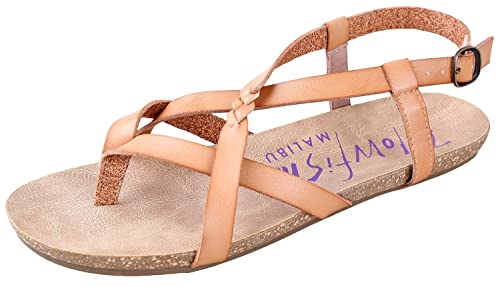 9d411134023 Image Unavailable. Image not available for. Color  Blowfish Women s Granola  Fisherman Sandal Nude ...