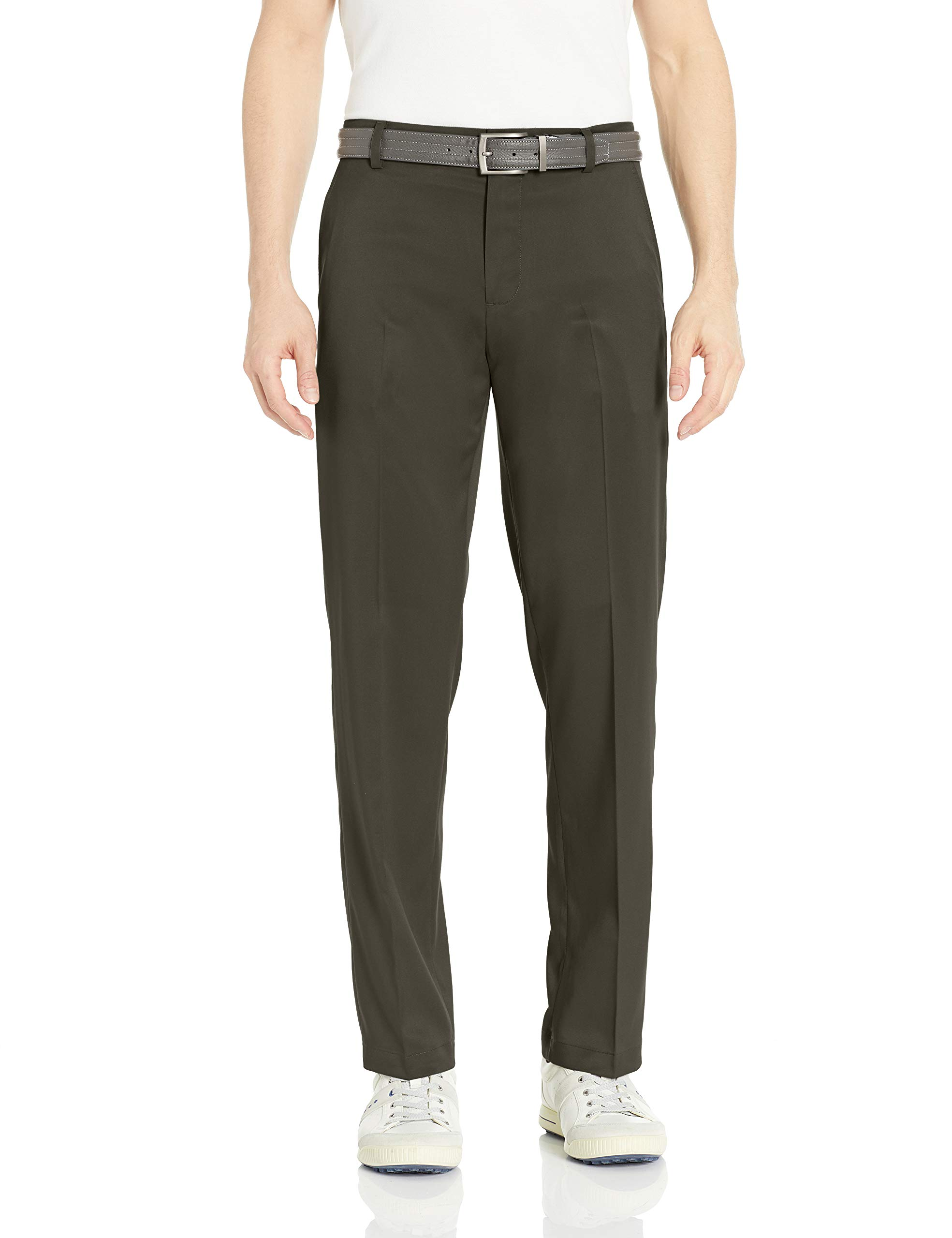 Amazon Essentials Men's Standard Classic-Fit Stretch Golf Pant, Olive, 36W x 34L by Amazon Essentials