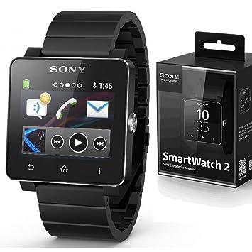Amazon.com: Sony SW2 SmartWatch 2 NFC Bluetooth Water ...