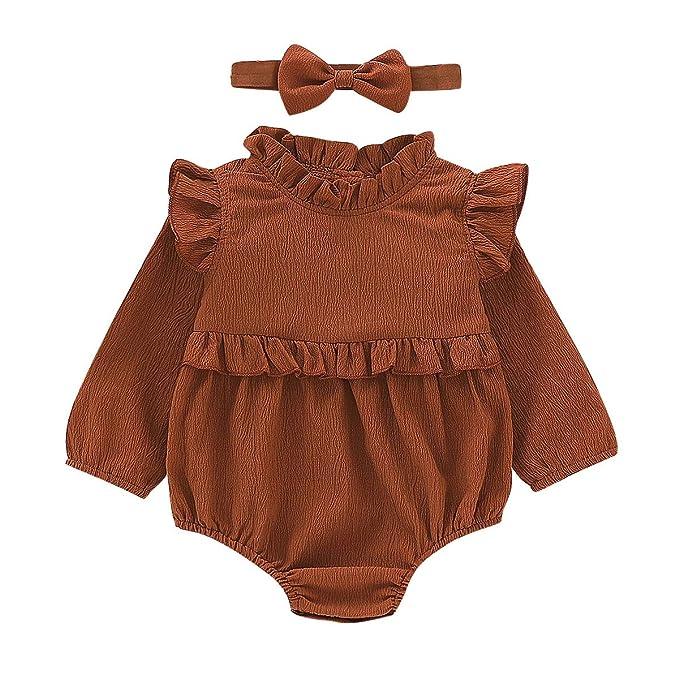4d8416391 Amazon.com  BabiBeauty Twins Baby Girls Sleeveless Romper Infant ...