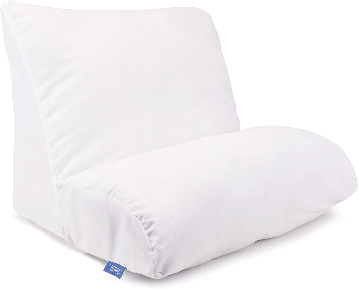 Contour Products, Flip Pillow, Standard Size (20 inch Width), Includes White Pillow Cover