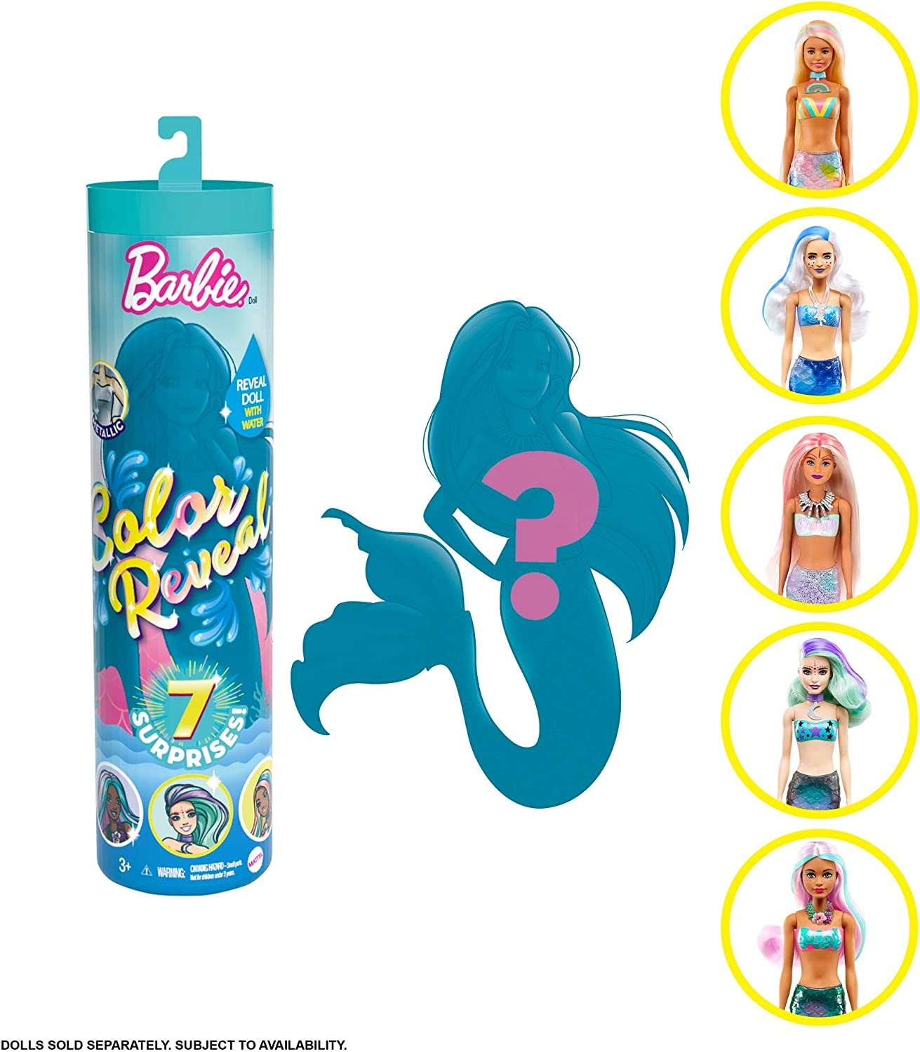NEW Barbie Colour Reveal Doll Assortment £19.99 @ Amazon