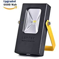 LOFTEK 15Watt LED Cordless Outdoor Work Flood Light (Black&Yellow)